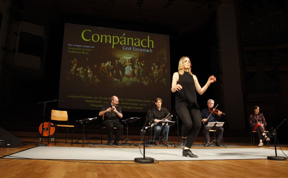 Companach on tour in Bruxelles and Luxembourg