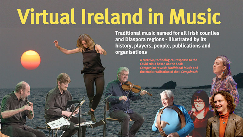 Virtual Ireland in Music cover